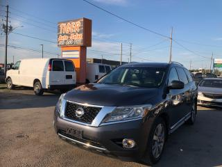 Used 2014 Nissan Pathfinder PLATINUM*NAVI*DUAL DVD*COOLED SEATS*7 PASS*LOADED for sale in London, ON