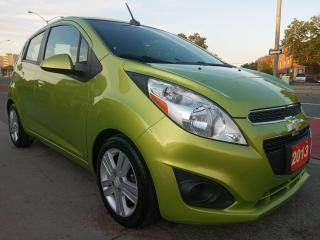 Used 2013 Chevrolet Spark LT-EXTRA CLEAN-125K-4 CYL-BLUETOOTH-AUX-USB-ALLOYS for sale in Scarborough, ON