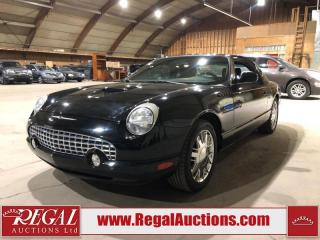 Used 2002 Ford Thunderbird 2D Convertible 3.9L for sale in Calgary, AB