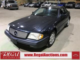 Used 1998 Mercedes-Benz SL-CLASS SL500 2D CONVERTIBLE for sale in Calgary, AB