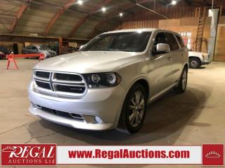 Used 2011 Dodge Durango R/T 4D Utility AWD for sale in Calgary, AB