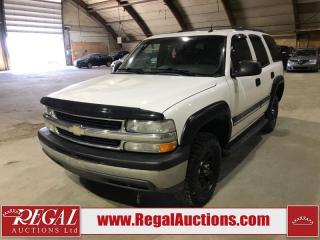 Used 2005 Chevrolet Tahoe 4D Utility 4WD for sale in Calgary, AB