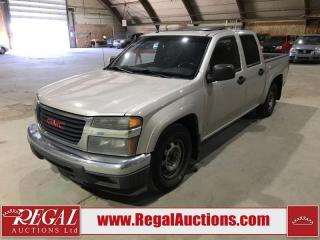 Used 2007 GMC Canyon SLE Crew Cab RWD for sale in Calgary, AB