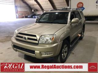 Used 2003 Toyota 4Runner Limited 4D Utility for sale in Calgary, AB