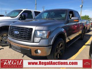 Used 2012 Ford F-150 FX4 Supercrew 4WD for sale in Calgary, AB
