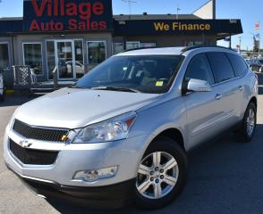 Used 2012 Chevrolet Traverse 2LT CRUISE CONTROL! BACK UP CAMERA! REMOTE START! AWD! 8 PASSENGER! for sale in Saskatoon, SK