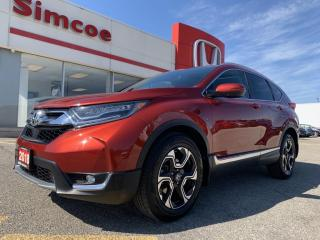 Used 2018 Honda CR-V Touring for sale in Simcoe, ON