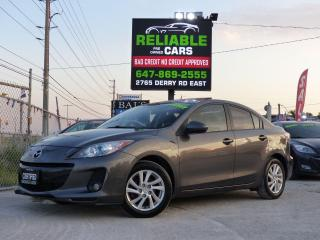 Used 2012 Mazda MAZDA3 GS-SKY,TOURING,LEATHER,FULLY LOADED,CERTIFIED, for sale in Mississauga, ON