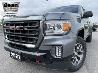 New 2021 GMC Canyon AT4 w/Cloth 3.6L V6 AT4 CREW CAB LONG BOX for sale in Carleton Place, ON