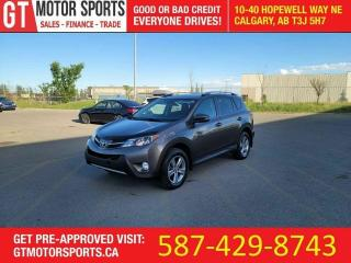 Used 2015 Toyota RAV4 XLEI AWD I | $0 DOWN - EVERYONE APPROVED! for sale in Calgary, AB