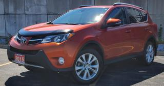 Used 2015 Toyota RAV4 LIMITED  for sale in Sarnia, ON