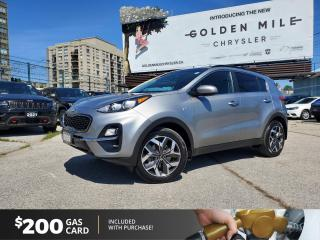 Used 2020 Kia Sportage EX S No Accidents, Navi, Pano Roof Heated Seats and Steering Wheel for sale in North York, ON