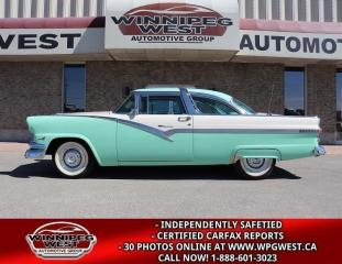 Used 1956 Ford Crown Victoria STUNNING MUSEUM/COLLECTOR QUALITY, MUST SEE!! for sale in Headingley, MB