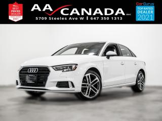Used 2017 Audi A3 2.0T Progressiv for sale in North York, ON