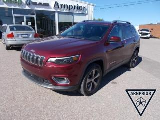 Used 2019 Jeep Cherokee Limited 4X4 for sale in Arnprior, ON