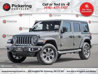 Used 2020 Jeep Wrangler Unlimited Sahara for sale in Pickering, ON