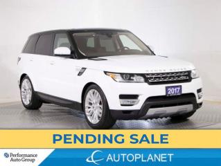 Used 2017 Land Rover Range Rover Sport TD6 HSE AWD, Diesel, Drive Pro Pkg, Navi,Pano Roof for sale in Brampton, ON