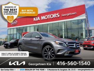 Used 2017 Mercedes-Benz GLA GLA 250 4MATIC | CLN CRFX| PANO ROOF| BU CAM | 77K for sale in Georgetown, ON
