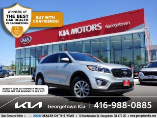 Used 2017 Kia Sorento LX | 1 OWNR | CLN CRFX | HTD SEATS | 28 K | B/T | for sale in Georgetown, ON