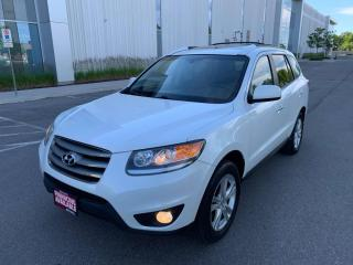 Used 2012 Hyundai Santa Fe AWD 4dr V6 Auto Limited for sale in Mississauga, ON