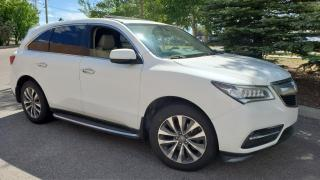 Used 2014 Acura MDX AWD 4dr Tech Pkg, Nav, Leather, Sunroof for sale in Calgary, AB