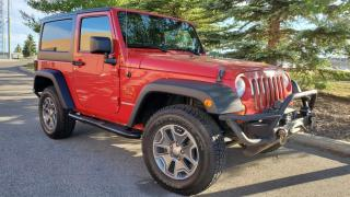 Used 2011 Jeep Wrangler 4WD 2dr Rubicon, Power Windows, winch, call now(403)235-0125 for sale in Calgary, AB