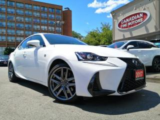Used 2017 Lexus IS 300 F SPORTS PKG | NAVI | CAM | ROOF | AWD | 4 NEW SNOW TIRES* | for sale in Scarborough, ON