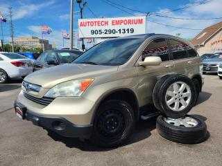 Used 2007 Honda CR-V EXL EX-L 4WD Leather/Sunroof/All Power for sale in Mississauga, ON