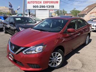 Used 2016 Nissan Sentra SV w/Sunroof Camera/Alloys/Heated Seats&GPS* for sale in Mississauga, ON