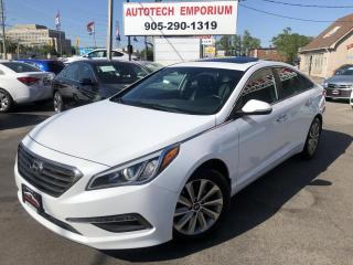 Used 2016 Hyundai Sonata GLS Prl White Camera/Alloys/Heated Seats&GPS* for sale in Mississauga, ON