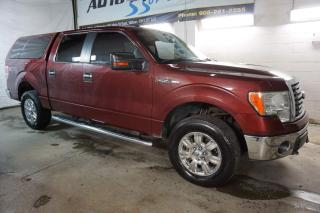 Used 2010 Ford F-150 V8 XTR 4X4 SUPER CREW CERTIFIED 2YR WARRANTY BLUETOOTH ALLOYS RUNNING BOARDS ENGINE R START for sale in Milton, ON