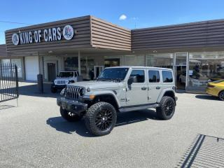 Used 2020 Jeep Wrangler Unlimited Sahara Altitude--LIFTED for sale in Langley, BC