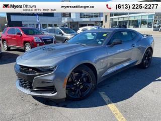 Used 2019 Chevrolet Camaro SS  CAMARO SS COUPE, MANUAL, SUNROOF, SATIN STEEL MATALLIC for sale in Ottawa, ON