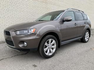 Used 2012 Mitsubishi Outlander SE AWC 7 Seater - Certified - Super Clean for sale in Etobicoke, ON