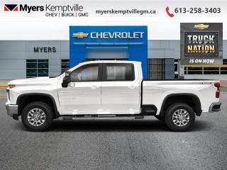New 2021 Chevrolet Silverado 2500 HD True North Edition for sale in Kemptville, ON