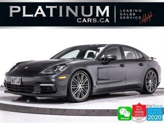 Used 2017 Porsche Panamera 4S, 440HP, AWD, PREMIUM PKG, SPORTS CHRONO, NAV for sale in Toronto, ON