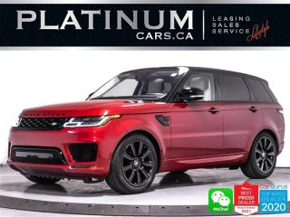 Used 2019 Land Rover Range Rover Sport HST MHEV HYBRID, 395HP, NAV, CAM, PANO, HEATED, BT for sale in Toronto, ON