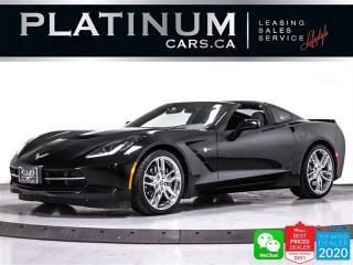 Used 2017 Chevrolet Corvette Stingray 2LT, 455HP, NAV, CAM, HEATED, VENTED,BOSE for sale in Toronto, ON