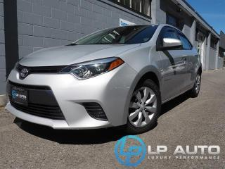Used 2015 Toyota Corolla LE for sale in Richmond, BC