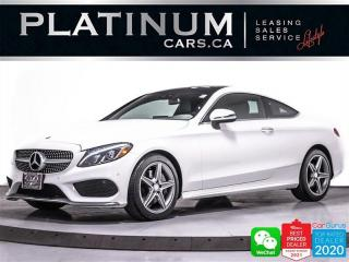 Used 2017 Mercedes-Benz C-Class C300 4MATIC Coupe, AMG PKG, NAV, CAM, PANO, HEATED for sale in Toronto, ON