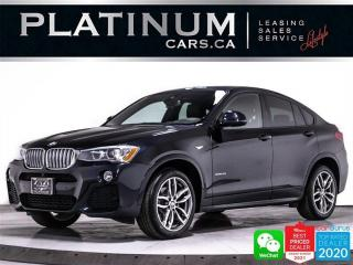 Used 2016 BMW X4 xDrive28i, AWD, MSPORT, DRIVER AST, CAM, NAV, BT for sale in Toronto, ON