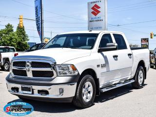 Used 2017 RAM 1500 ST Crew Cab 4x4 ~Bluetooth ~Camera ~Trailer Tow for sale in Barrie, ON