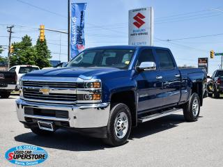 Used 2016 Chevrolet Silverado 2500 Crew Cab 4x4 ~6.0L V8 ~Trailer Tow ~ONLY 5,200 KM! for sale in Barrie, ON