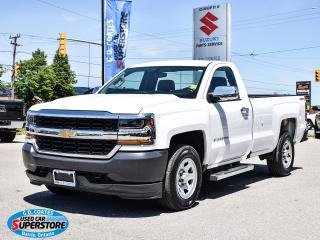 Used 2018 Chevrolet Silverado 1500 Regular Cab 4x4 ~5.3L V8 ~Camera ~ONLY 14,300 KM! for sale in Barrie, ON