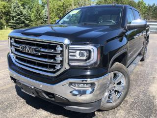 Used 2018 GMC Sierra 1500 SLT E-ASSIST CREW 4WD for sale in Cayuga, ON