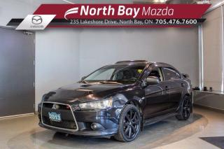 Used 2013 Mitsubishi Lancer Ralliart AWC - Heated Seats - Bluetooth - Cruise for sale in North Bay, ON
