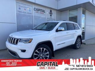 Used 2018 Jeep Grand Cherokee Limited 4WD * PANORAMIC SUNROOF * Nappa Leather * Apple Carplay * for sale in Edmonton, AB