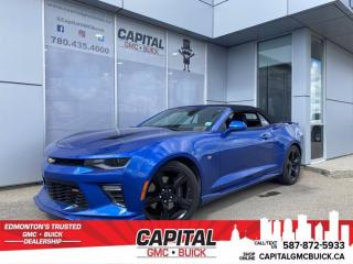 Used 2017 Chevrolet Camaro 2SS HUD * 6.2L * CONVERTIBLE * AUTO for sale in Edmonton, AB