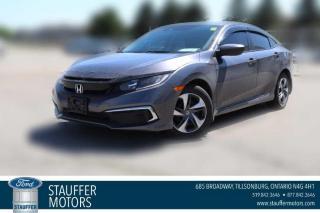Used 2019 Honda Civic SEDAN LX for sale in Tillsonburg, ON