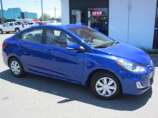 Used 2013 Hyundai Accent GLS $7,995+HST+LIC FEE / SUNROOF / CERTIFIED / ONLY 32,000 KMS FROM NEW for sale in North York, ON